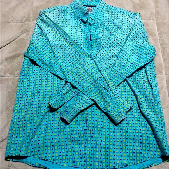 Cinch Button Down Shirt